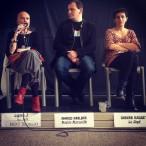 Nicky Tremblay (Dell'Arte) évoque Lignes 3, avec Ahmed Nadjar (Med'in Marseille) et Sabira Basset (TO7)
